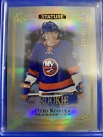 2019-20 Upper Deck Stature Rookie #103 Otto Koivula /399 New York Islanders RC