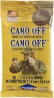 Camo Off - Camouflage Paint Make Up Remover Wipes 30 Pack
