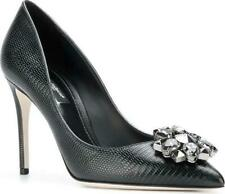 Dolce&Gabbana Belluci Shoes 4 UK Pumps Heels with Crystals D&G New £695