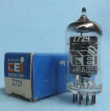 CIE Z729 (EF86 6267) Vacuum Tube NOS/NIB Amplitrex Tested Gray Plates [] Getter