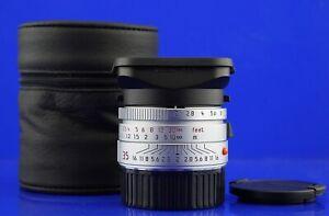 LEICA Summicron M 2/35 Asph. Silber/Chrom #3912712 35mm TOMS-CAMERA-LADEN