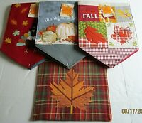 """THANKSGIVING/FALL  TABLE RUNNER ASSORTMENT #3  13"""" X 36"""" {Your choice}"""