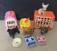 Miniature Dollhouse 2014 Megahouse Cats Pet Set