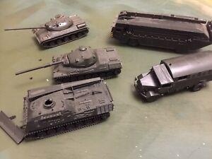 roco minitanks 1/87 Modern German Tanks , Trucks Large Lot