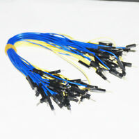 50PCS 20CM Male to Male Breadboard Dupont Jumper Cable Wires PCB for Arduino DIY