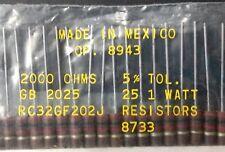 Allen Bradley Fixed Resistors 25 2k OHMS 1 Watt 8943