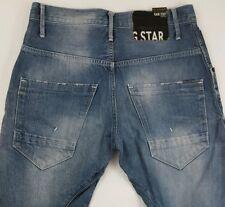 G STAR RAW ORIGINALS 3301 Arc Loose Tapered Mens Denim Jeans Size 30X32