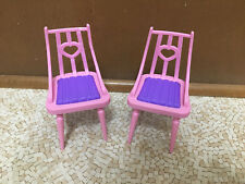 Barbie Doll Sisters Cozy Cabin Winter Family Build Up House Dollhouse Chair Set