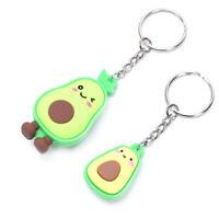 PVC Soft  Avocado Cute Pendant Key ring Key chain Car Bag Key Souvenir Gifts_ti