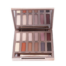 12Colors Basic Natural Matte Eyeshadow Palette Eye Shadow With Brush Makeup