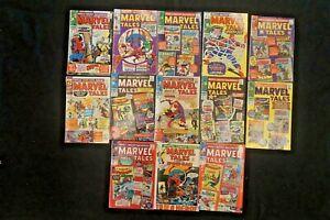 MARVEL COMICS LOT OF 13 MARVEL TALES COMICS (11)