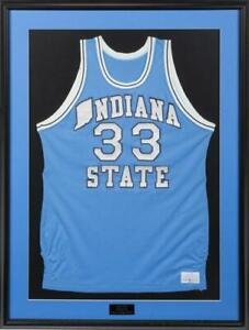 Larry Bird 1977-78 Game Worn Indiana State Home Jersey LOA Julien's Provenance