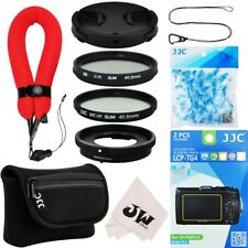10in1 Lens Adapter+Filter+Camera Pouch+Lens Cap for Olympus TG-6 TG-5 TG-4 TG-3