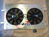 Aluminum Radiator shroud & FANS FOR Holden Commodore VT VX 3.8L V6 Petrol 97-02
