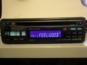 ALPINE CDM-7838R RADIO RECEIVER, CD  PLAYER MADE IN JAPAN