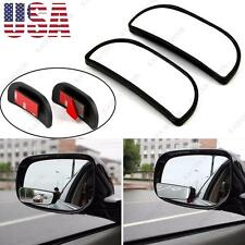 Car SUV Adjustable Stick on Convex Wide Angle Blind Sport Side Rearview Mirror