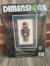 Dimensions Ginger Jar Counted Cross Stitch kit Sealed