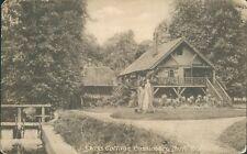 watford; swiss cottage cassiobury park 1919; H G Stone