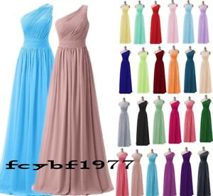 Long Evening Party Ball Gown Prom dress Bridesmaid Dresses Size 6-26