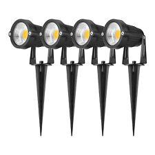 Led Landscape Lighting, 5W Waterproof Outdoor Spotlight 4-Pack 3000K or 5000K