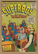 Superboy #48 - Detached Cover - 1956 (Graded 2.0) WH