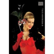 Red Velvet Gloves Velvet  56Cm Moulin Rouge Can Can Fancy Dress Accessory