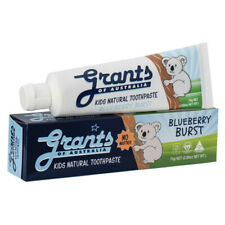 Grants Natural Toothpaste Kids Blueberry Burst 75g