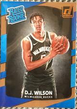 2017-18 DJ WILSON DONRUSS RATED ROOKIE CARD MINT RARE!