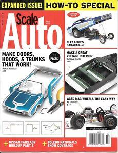 Scale Auto Enthusiast Apr.2015 Mag Wheels 240ZG Vintage Interior Open Doors Hood