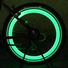 2Pcs Neon LED Reifen Auto Fahrrad Rad Licht Lampe Ventilkappe Ventil P5A1 L R2L0