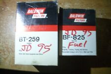 Baldwin Fuel Filter ELEMENT ONLY  BF825 & BT259 Oil Filter(Fits 1995 John Deere)