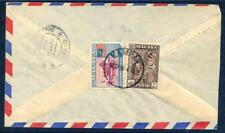 1945 cover from Kampar to Southern India as scanned (2018/05/17/#02)
