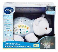 NEW VTECH BABY LITTLE FRIENDLIES STARLIGHT SOUNDS POLAR BEAR 506903