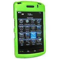 AMZER Neon Green Snap-On Hard Shell Case Cover For BlackBerry Storm 9530