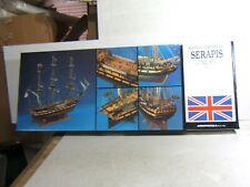 New listing Aeropiccola 1/60 British English Hms Serapis 1779 44 Gun Frigate Model Ship Kit