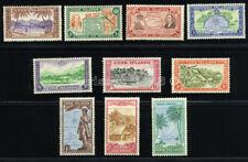 COOK ISLANDS 1949 SG150-159 SC 131-140 VF OG MLH SCARCE COMPLETE SET 10 STAMP