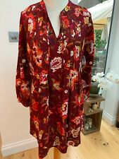 Old Navy Autumn Floral Tunic Dress Size Medium 12-14 New With Tags