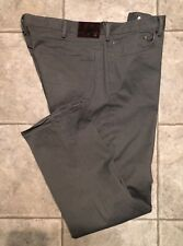 DOCKERS * Mens Gray STRAIGHT FIT Jeans * Size 40(42) x 32 * EXCELLENT