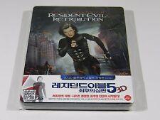 Resident Evil Retribution 3D+2D Blu-ray Steelbook [Korea] 1/4 Slip Ed OOS/OOP