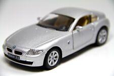"5"" Kinsmart BMW Z4 Coupe Hardtop Diecast Model Toy Car 1:32 Silver"
