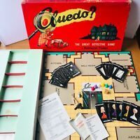 1949 Waddingtons Vintage Cluedo Board Game First Edition 100% COMPLETE Clue