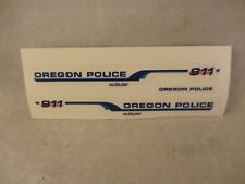 Res1Cue Customs - Oregon Police on the Bay Decals  '98 Ford  1:43 Scale  (718)