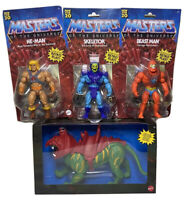 New Masters of the Universe 2020 Beast Man, Skeletor, He-man Battle Cat Bundle