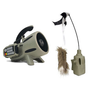 ICOtec Electronic Programmed Predator Game Call and Decoy Hunting Accessory Kit