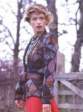 Brandon Mably Badly Scales Cardigan in Vintage Rowan Yorkshire Tweed 4 ply