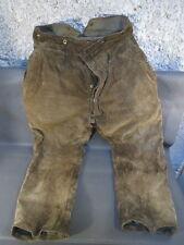 Très ancien pantalon de velours  paysan costume de campagne french old clothes