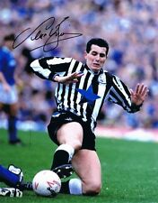 Signed Liam O'Brien Newcastle United Autograph Photo