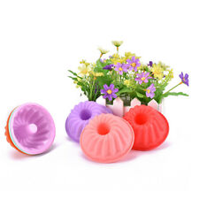 6Pcs Candy Color Cookies Muffin Jello Flower Round Silicone Mold Cookie Tools NT
