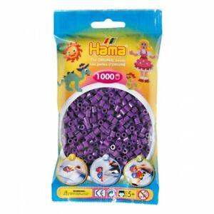 Hama 207-07 - Confezione  perline da stirare  color lila 1.000 pezzi