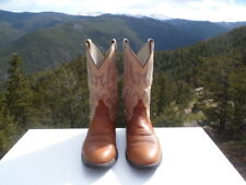 Ariat Men  Leather Western Cowboy Boots Size 8 1/2